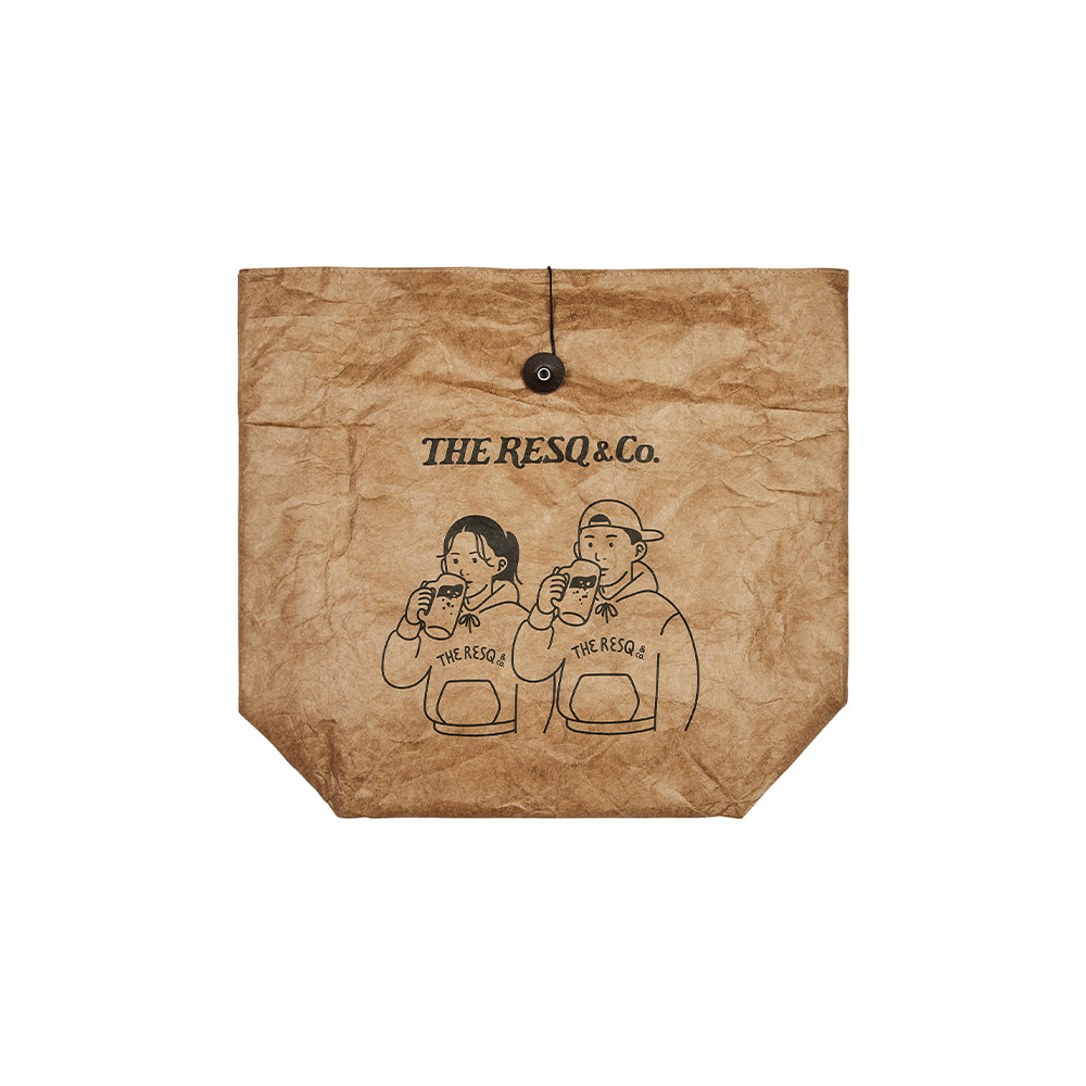 WHiRLYBiRD PICNIC BAG [CRAFT PAPER]